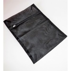 Black Mesh Wash Bag