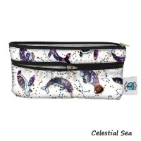 Travel Wet/Dry Bag - Celestial Sea