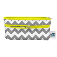 Travel Wet/Dry Bag - Grey Chevron